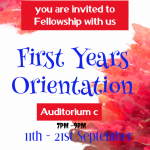 Invitation For Orientation Fellowship